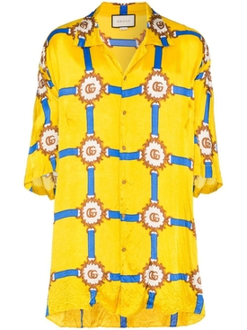 GG bowling shirt YELLOW
