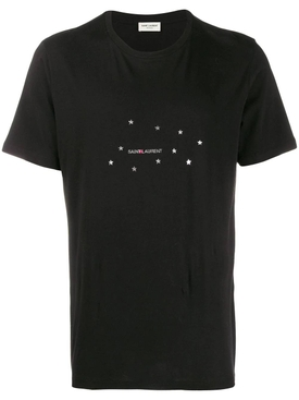 logo constellation print T-shirt