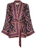 Gucci - Silk Kimono Style Jacket - Women