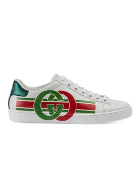 Gucci - Interlocking G Ace Sneakers - Women
