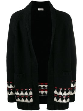 Saint Laurent - Boho Motif Knitted Cardigan - Men