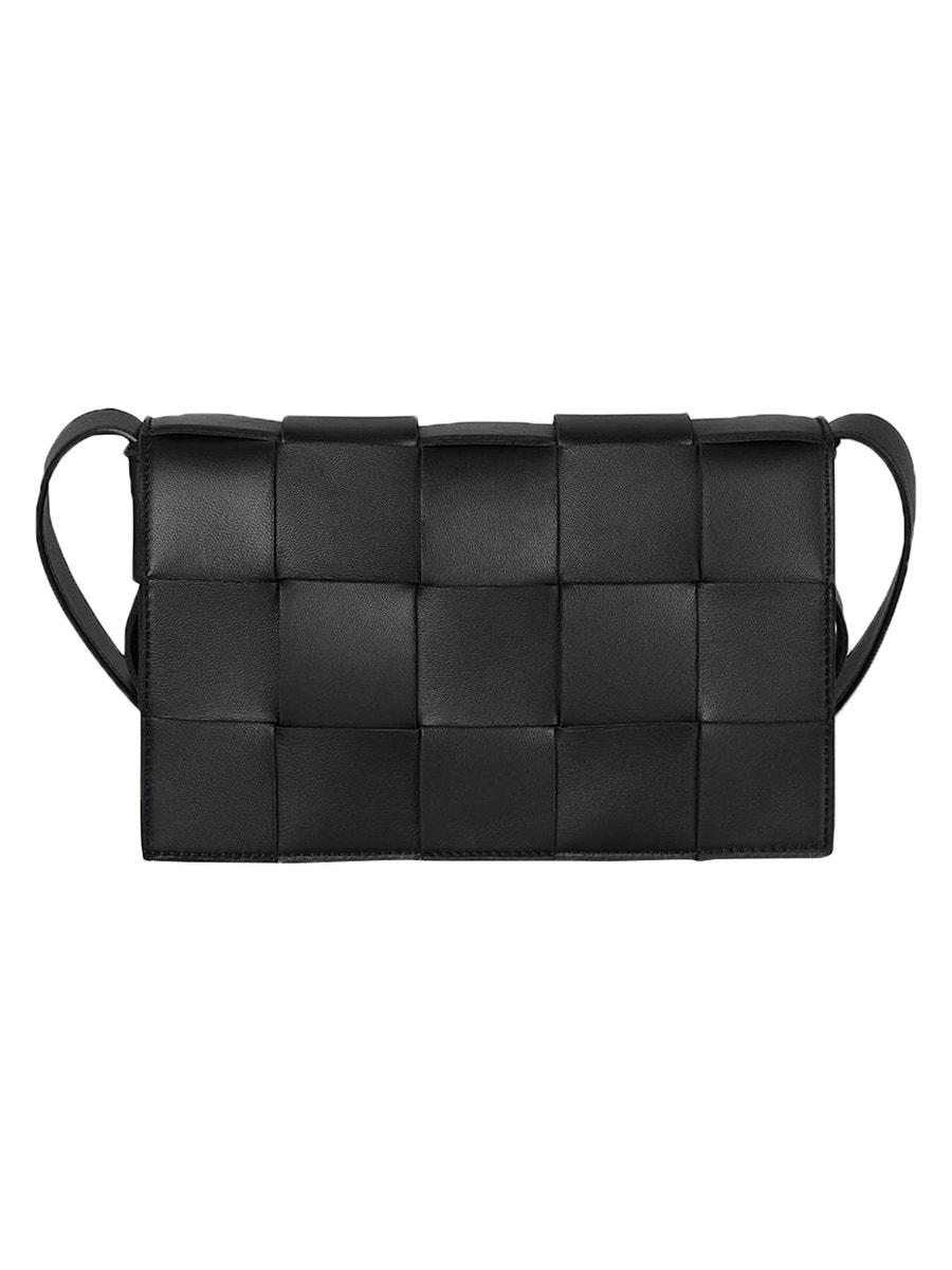 Bottega Veneta Bags Intreccio cassette bag BLACK