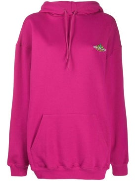 Balenciaga - Pink Over-sized Hoodie - Women