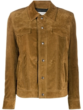 Brown Fringe Suede Leather jacket