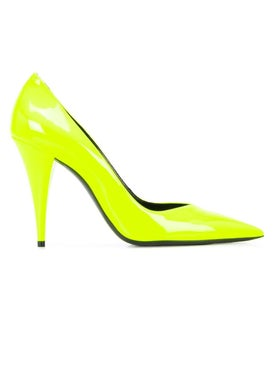 Saint Laurent - Kiki Pump Yellow - Women