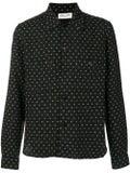 Saint Laurent - Stitched Pattern Shirt - Men