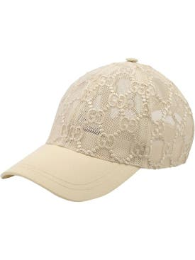 Gucci - Gg Mesh Baseball Cap White - Women