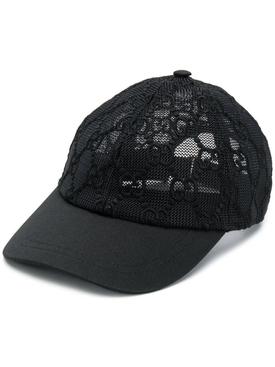 GG MESH BASEBALL CAP BLACK