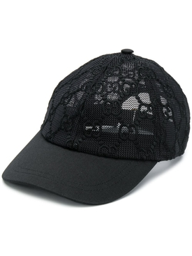 Gucci - Gg Mesh Baseball Cap Black - Women