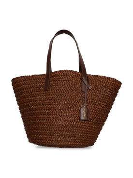 MEDIUM PANIER BAG, BROWN