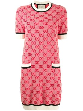 Gucci - Gg Knit Mini Dress - Women