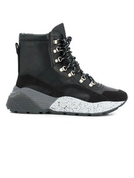 Stella Mccartney - Black Eclypse Hiking Boots - Women