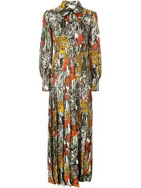 Gucci - Hidden Animal Maxi Dress - Women