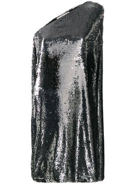 Stella Mccartney - Silver Sequined Dress - Women