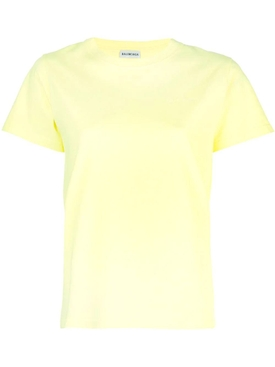 yellow logo stamp T-shirt