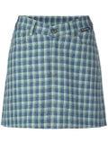 Balenciaga - V-shaped Waist Checked Skirt - Women