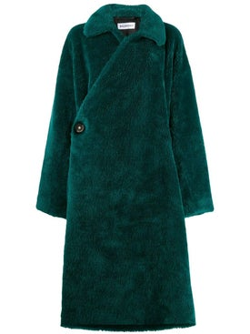 Balenciaga - Faux-fur Wrap Coat - Women