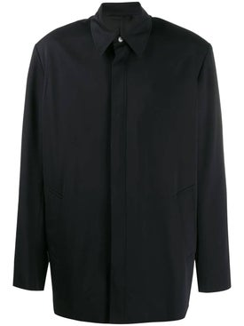 Balenciaga - Oversized Shirt Jacket Black - Men