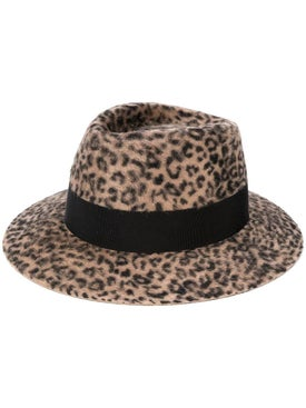 Saint Laurent - Leopard Print Hat - Women