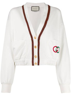 Gucci - White Cropped Cardigan - Women