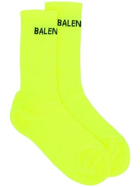 Balenciaga - Yellow Tennis Socks - Women
