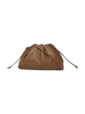 THE MINI POUCH, TEAK BROWN