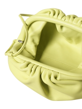 THE MINI POUCH LEATHER BAG SEAGRASS