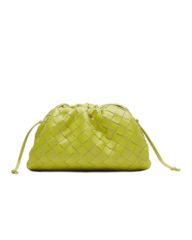 The Mini Pouch Bag Kiwi/Gold