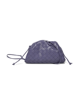 The Mini Pouch Bag Lavender/Silver