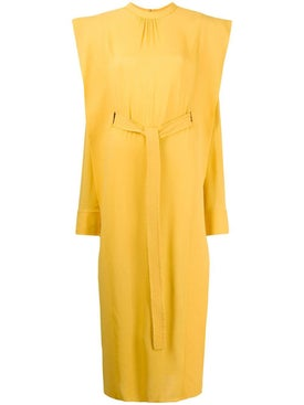 Stella Mccartney - Yellow Panel Dress - Women