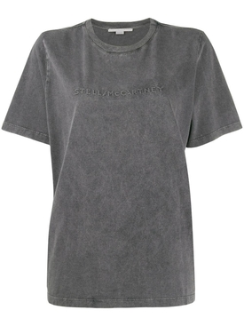 logo embossed T-shirt