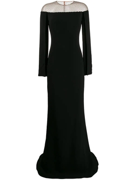 Stella Mccartney - Off-the-shoulder Mesh Gown - Women