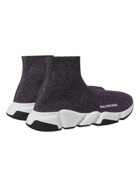 Grey speed sock sneakers