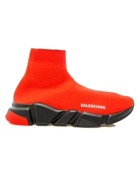 Balenciaga - Speed Knitted Sock Sneakers Red - Men