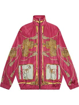Gucci - Horse Print Bomber Jacket - Men