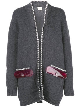Christopher Kane - Crystal Embellished Cardigan - Women