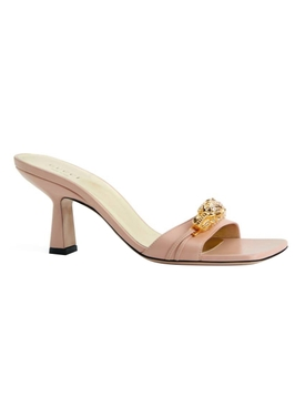 Gucci - Neutral Leather Sandals - Women