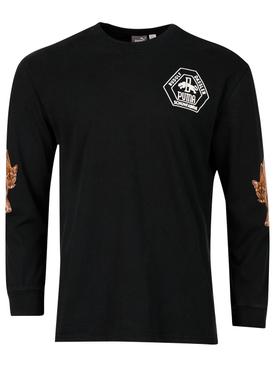 X Rhuigi X Kuzma Long-sleeve T-shirt Black