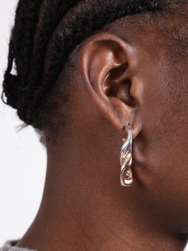 Gourmette chain earrings