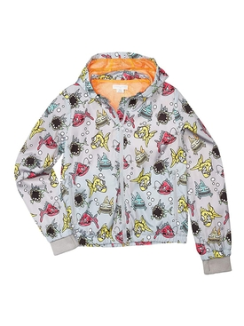 Kids Multicolored Angry Fish Jacket