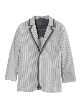 Kids Blue Tailored Blazer Jacket