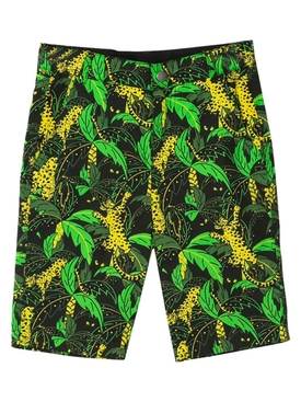 HUNTING LEOPARD PALMS SHORTS