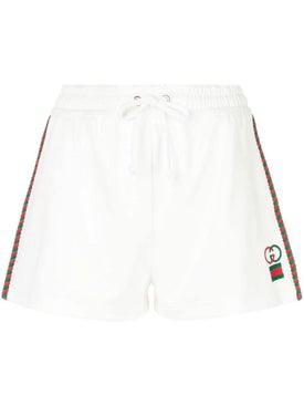 Gucci - Logo Cotton Shorts - Women