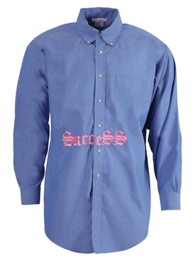 BLUE SUCCESS SHIRT