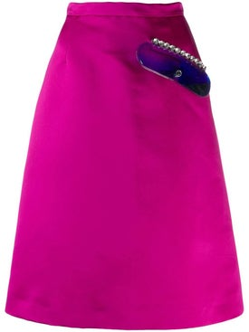 Christopher Kane - Crystal Gel Skirt - Women