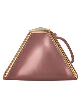 Pink pyramid bag