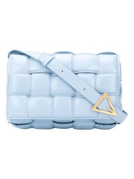 ICE BLUE PADDED CASSETTE BAG