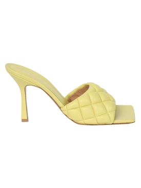 Pear yellow padded sandal