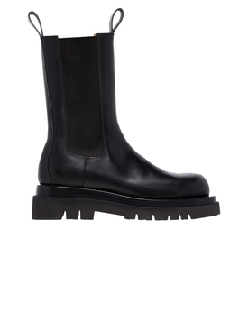 BLACK LEATHER STORM BOOT