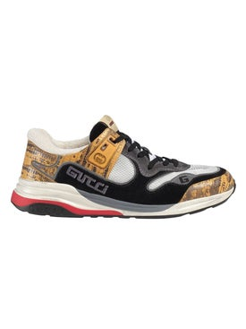Gucci - Ultrapace Paneled Sneaker Yellow - Low Tops
